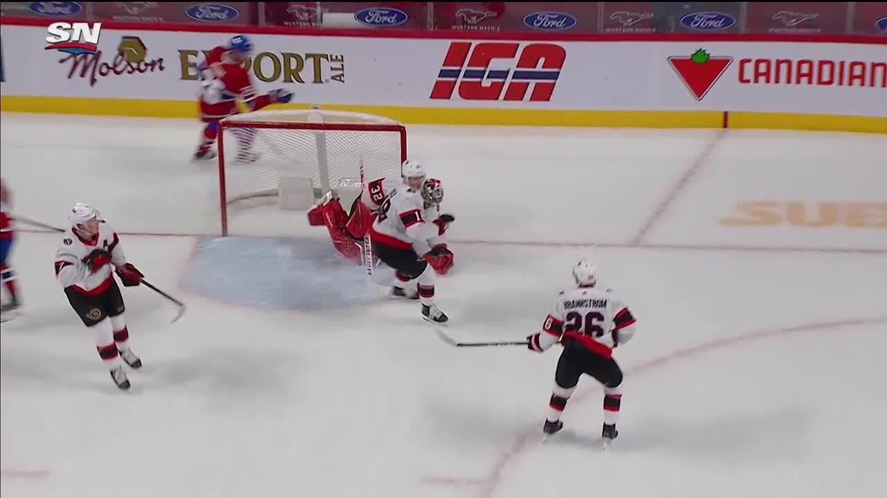Montreal Canadiens vs. Ottawa Senators - Game Highlights