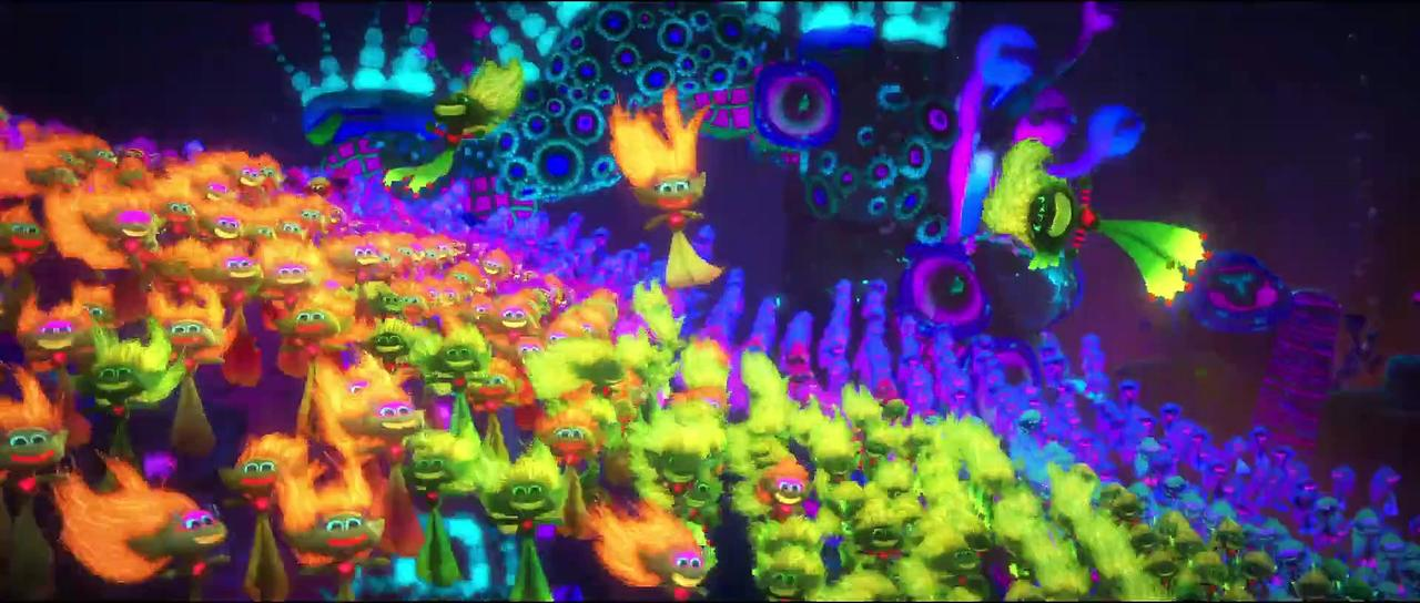 Trolls World Tour Movie Clip - Techno Trolls and Rock Trolls