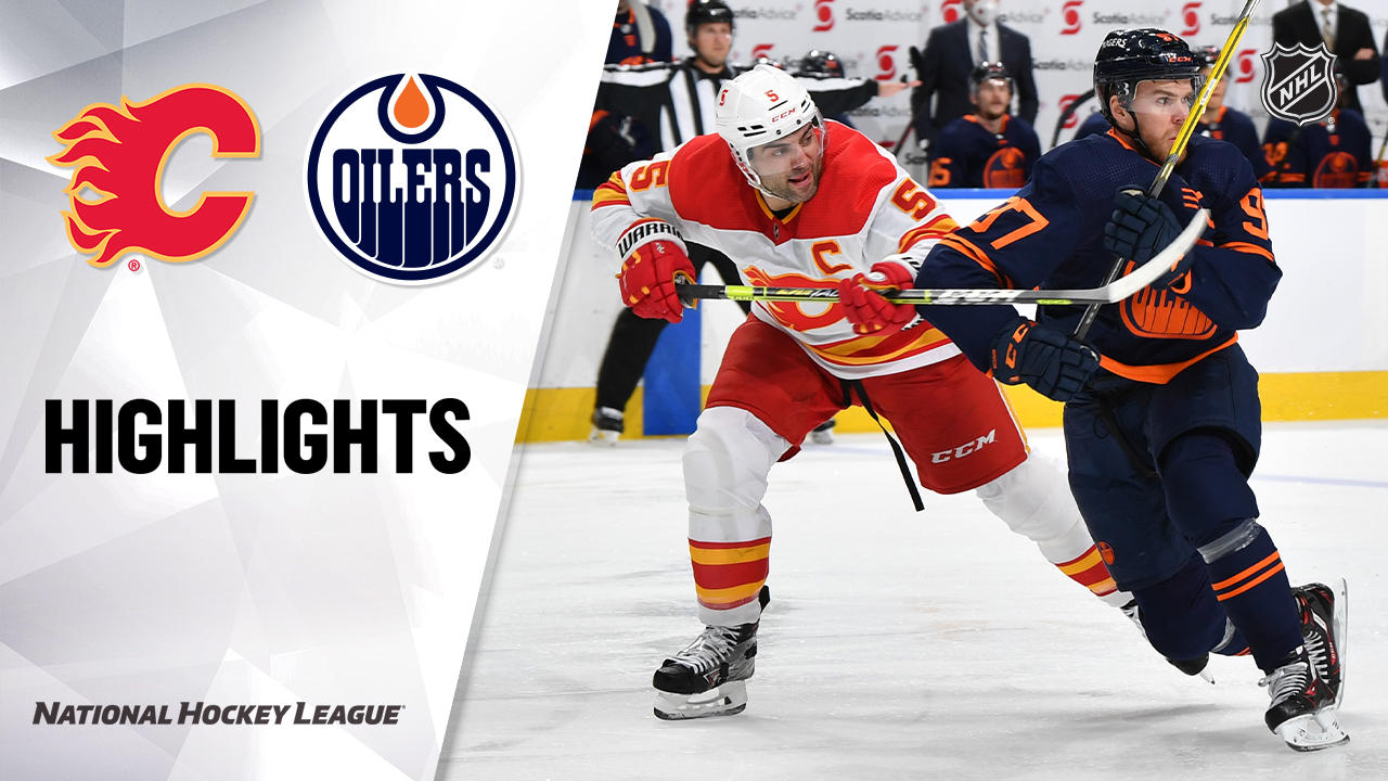 Flames @ Oilers 5/1/21 | NHL Highlights
