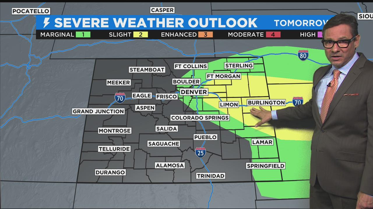 From Near Record Heat To Snow And T-storms