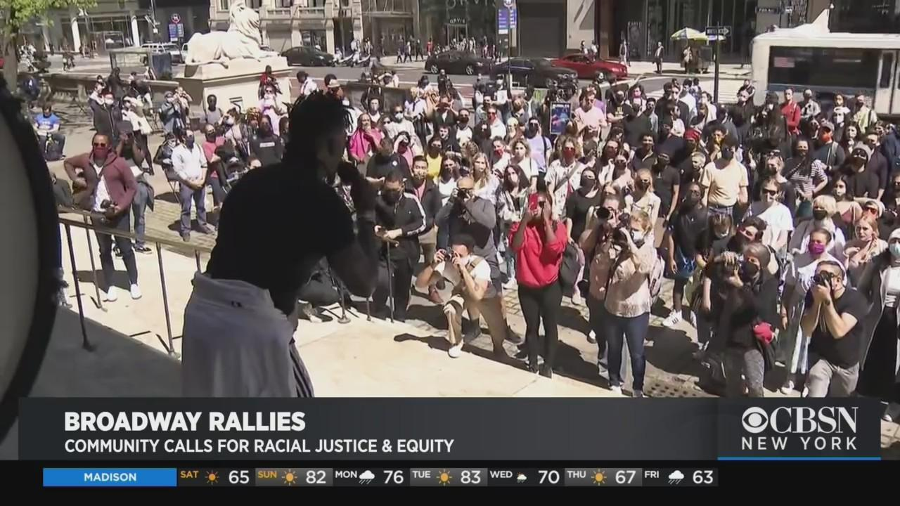 Broadway Community Calls For Racial Justice & Equity