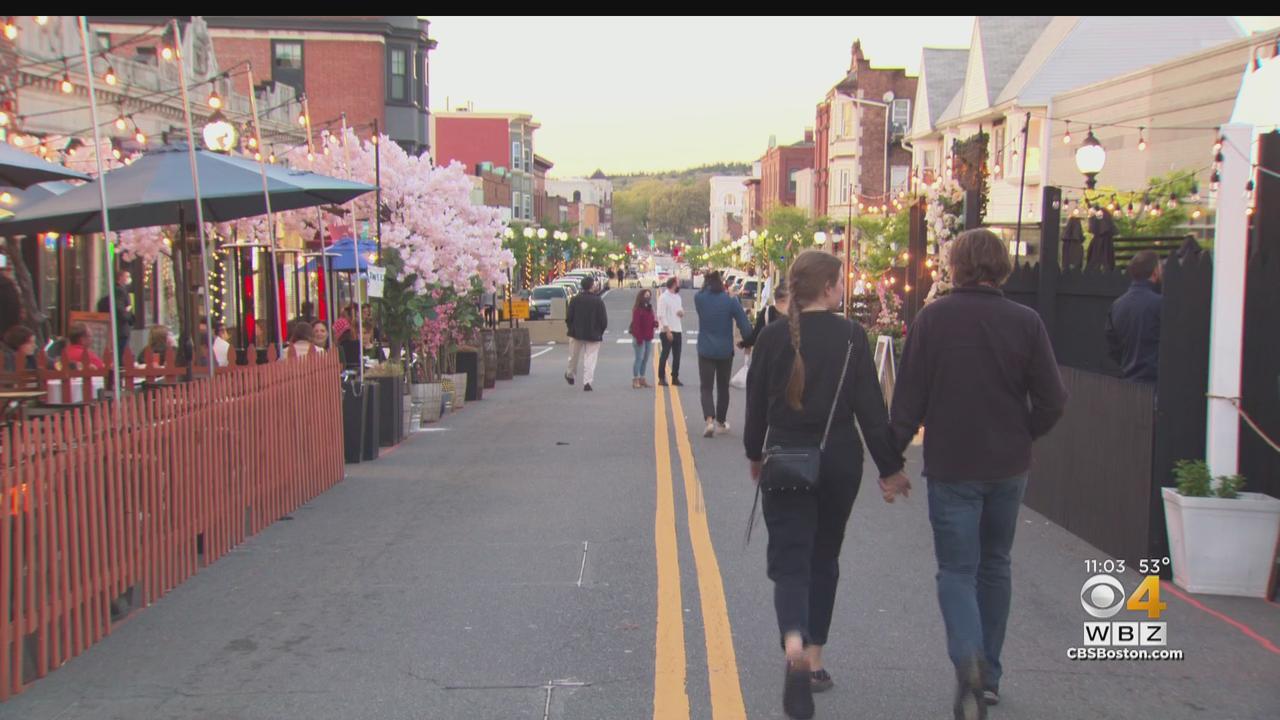 Outdoor Dining On Moody Street Starts On Saturday
