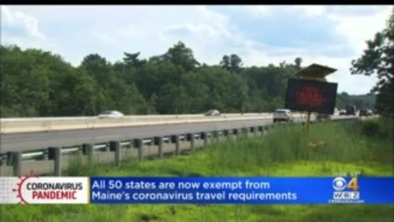 Maine Ends All COVID-19 Visitor Testing And Quarantine Needs