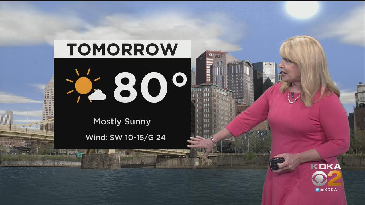 KDKA-TV Nightly Forecast (5/1)