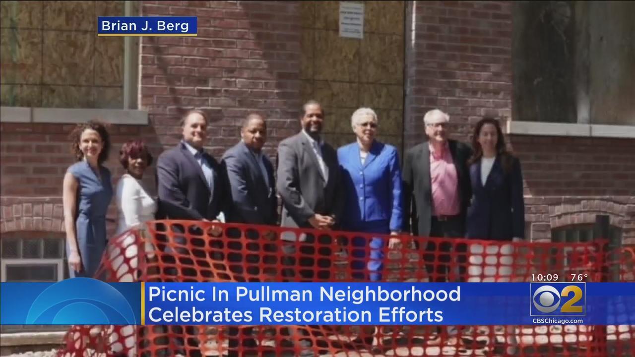 Picnic In Pullman Neighborhood Celebrates Restoration Efforts