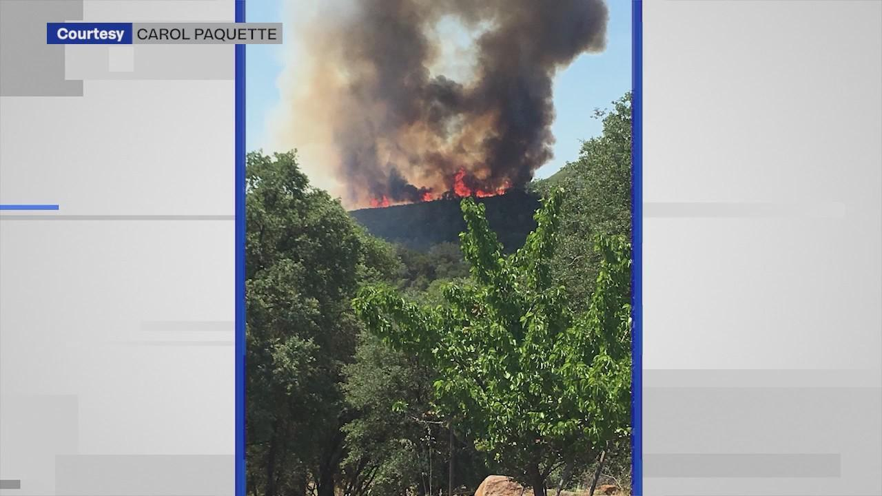 Salmon Fire burns near Folsom Lake, prompts concerns for upcoming fire season.