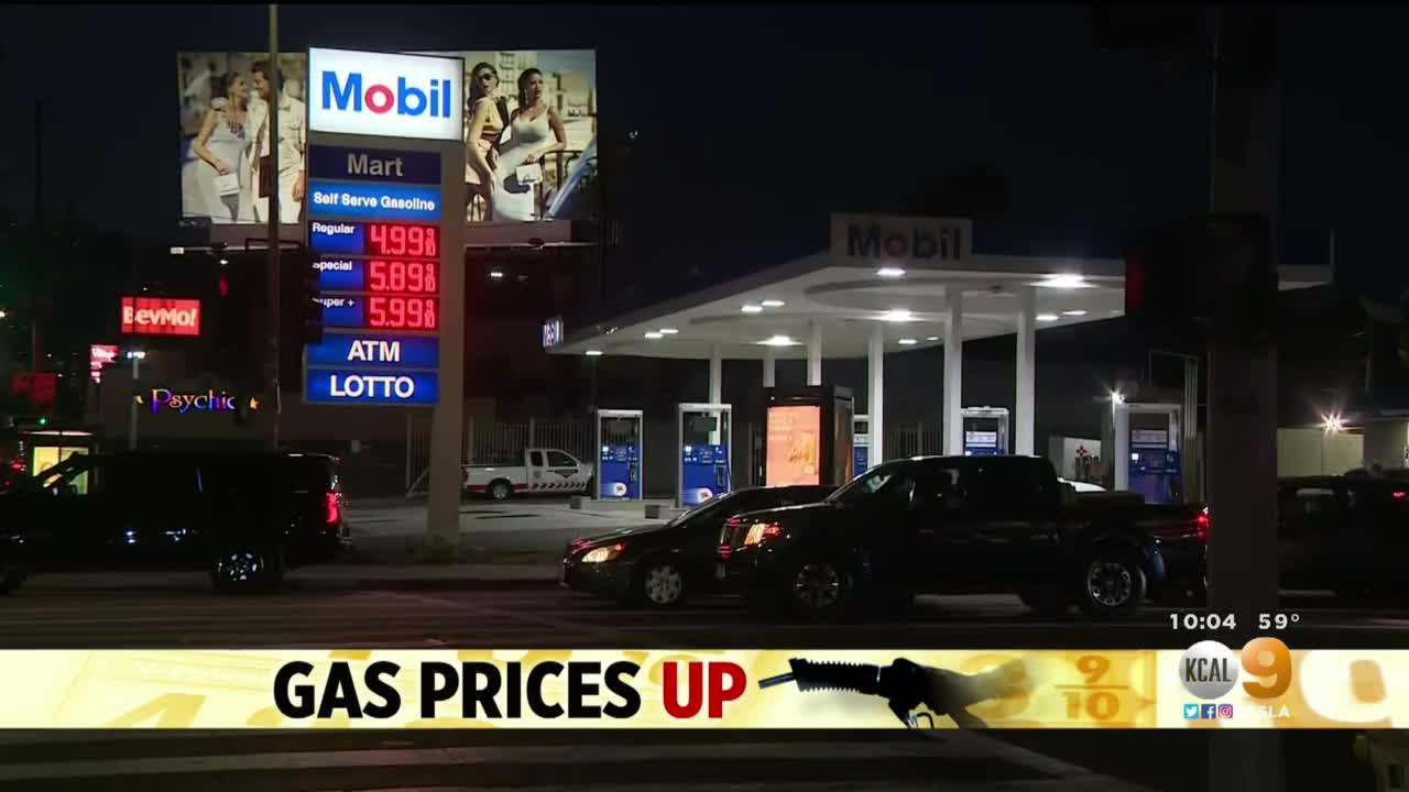 Gas Prices Averaging Over $4 A Gallon In SoCal Could Increase Due To Fuel Driver Shortage