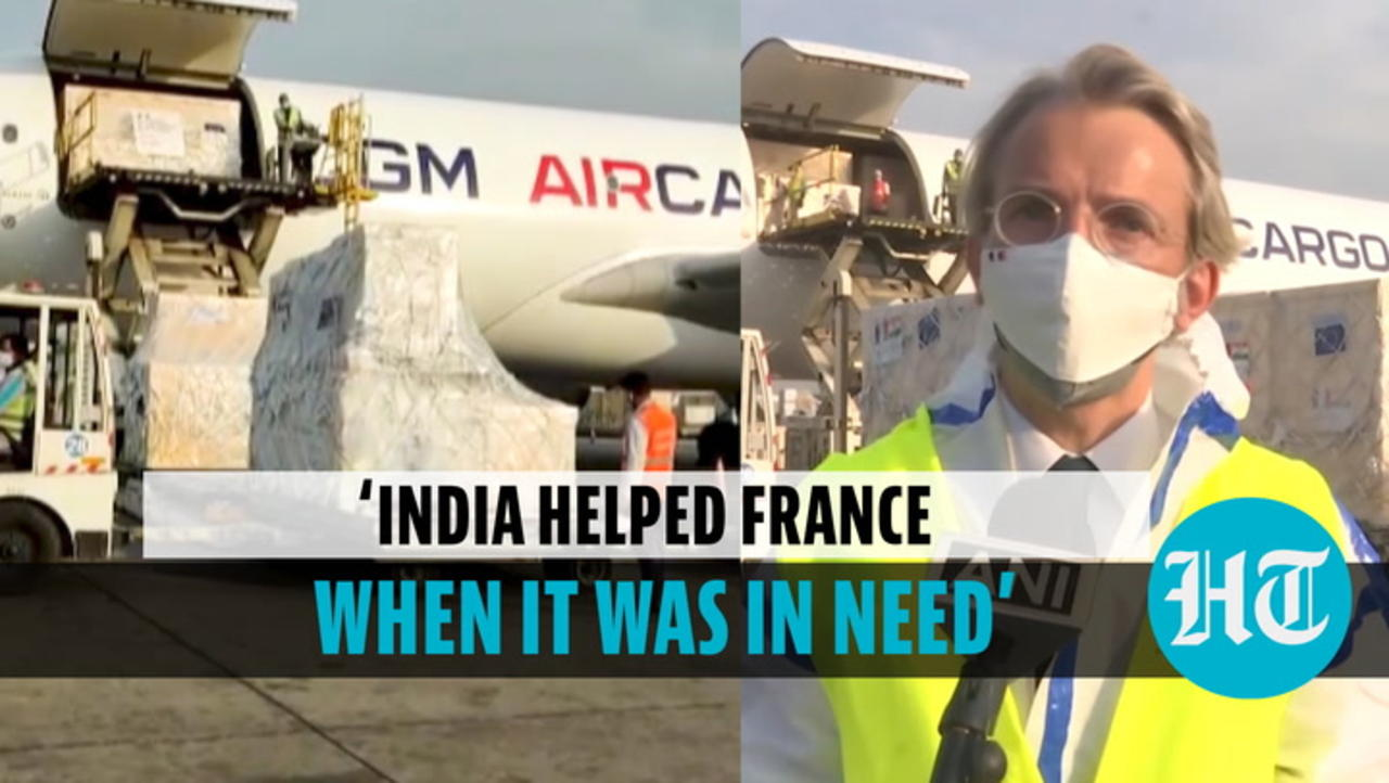 'Covid aid to India largest package France provided to any country': French Envoy