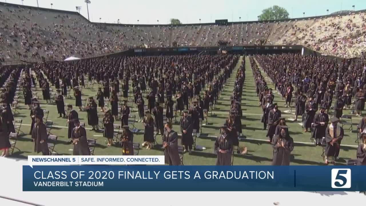 One year later: Vanderbilt holds graduation for the Class of 2020