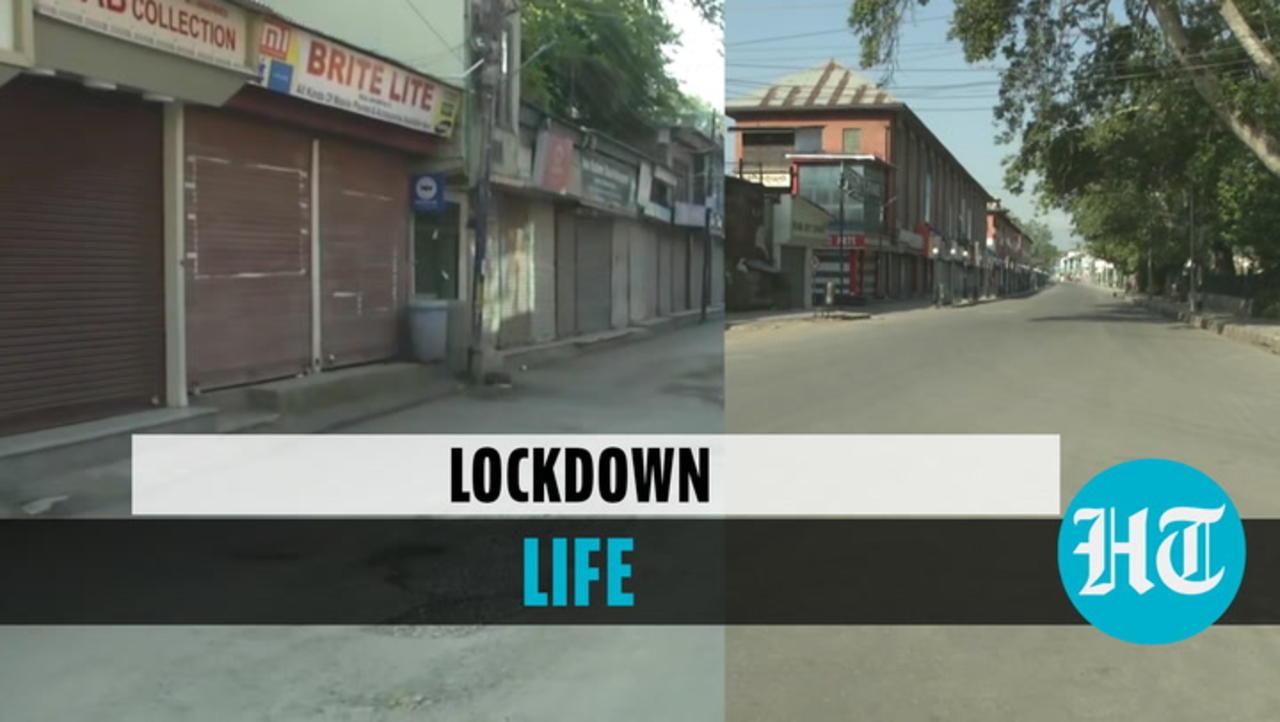 Watch: Lockdown sees shut shops, deserted streets in Srinagar | Covid