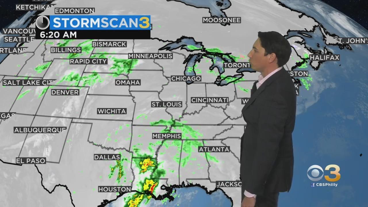 Philadelphia Weather: Warm End To The Weekend