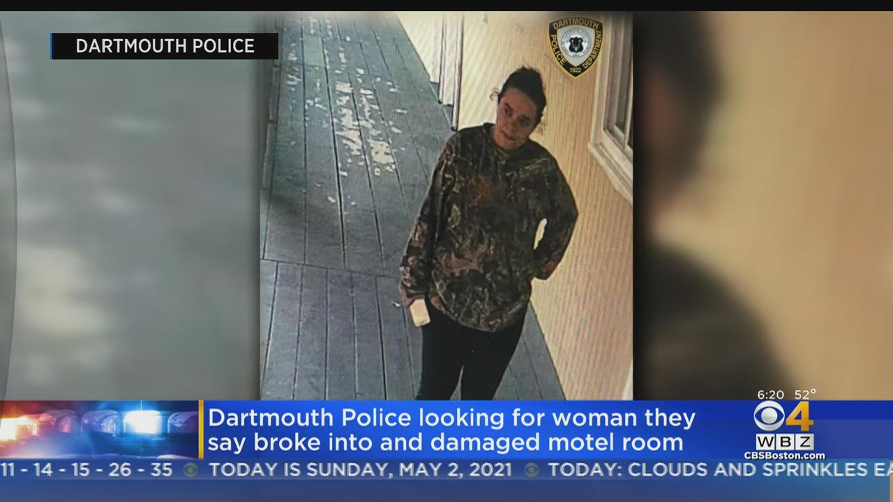 Dartmouth Police Seek Woman Who Broke Into Motel Room, Caused $1,000 In Damage
