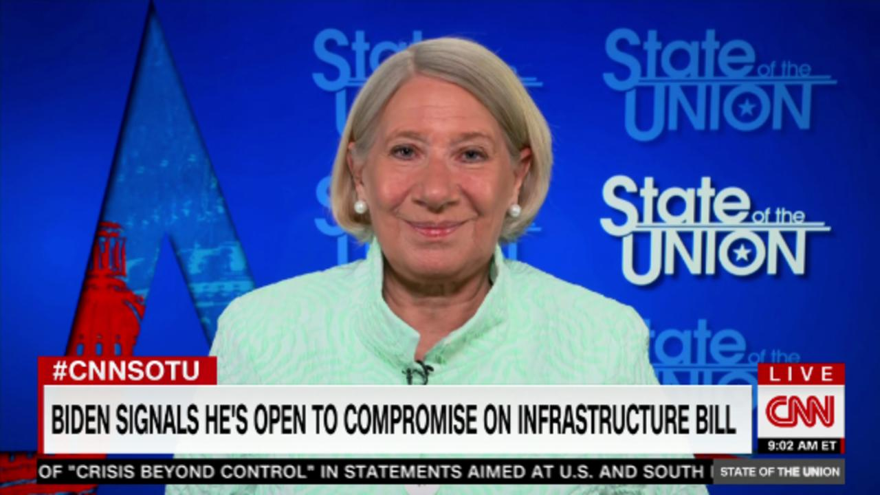 Top WH adviser: Biden 'willing to compromise' on infrastructure