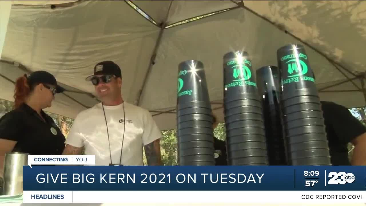 Give Big Kern 2021 happening on Tuesday