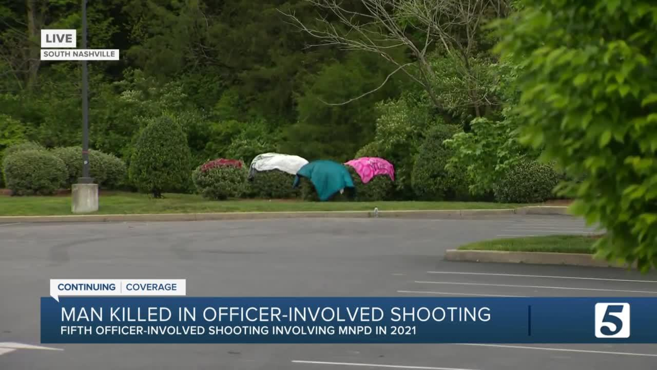 Man shot, killed by Metro police in South Nashville; Shooting under investigation