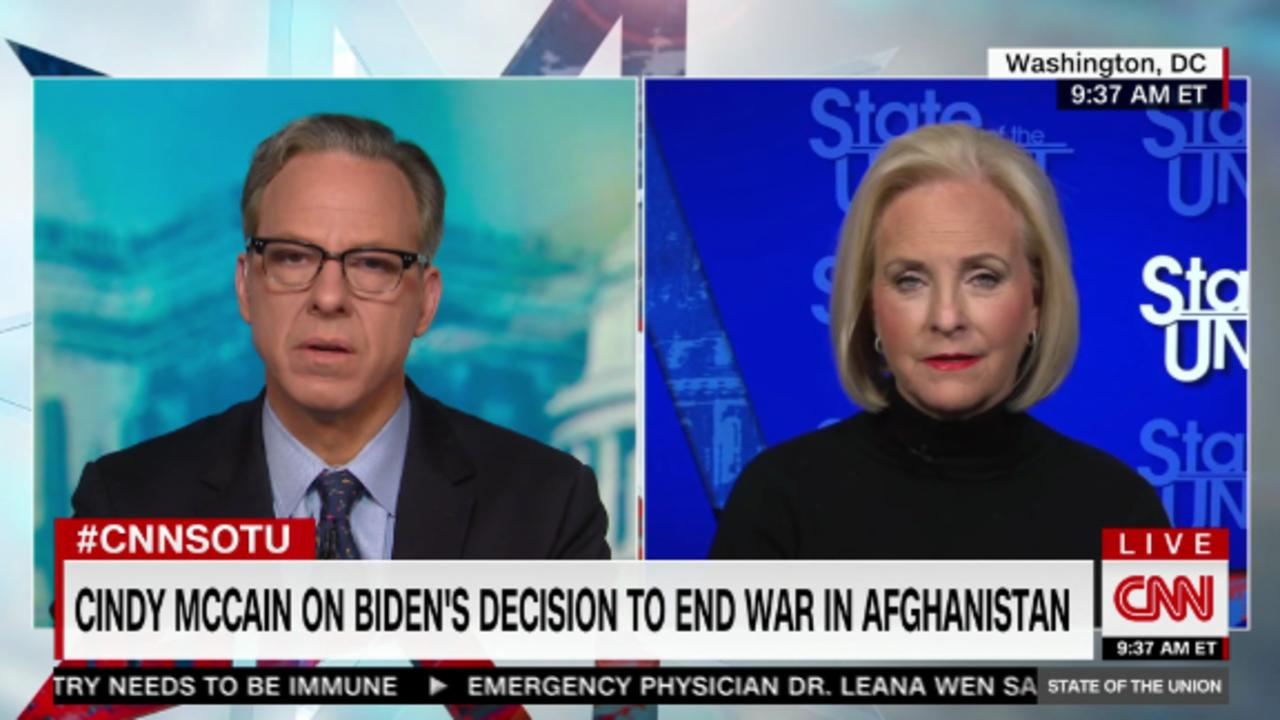 Cindy McCain: I'd be 'proud and honored to serve' in Biden administration