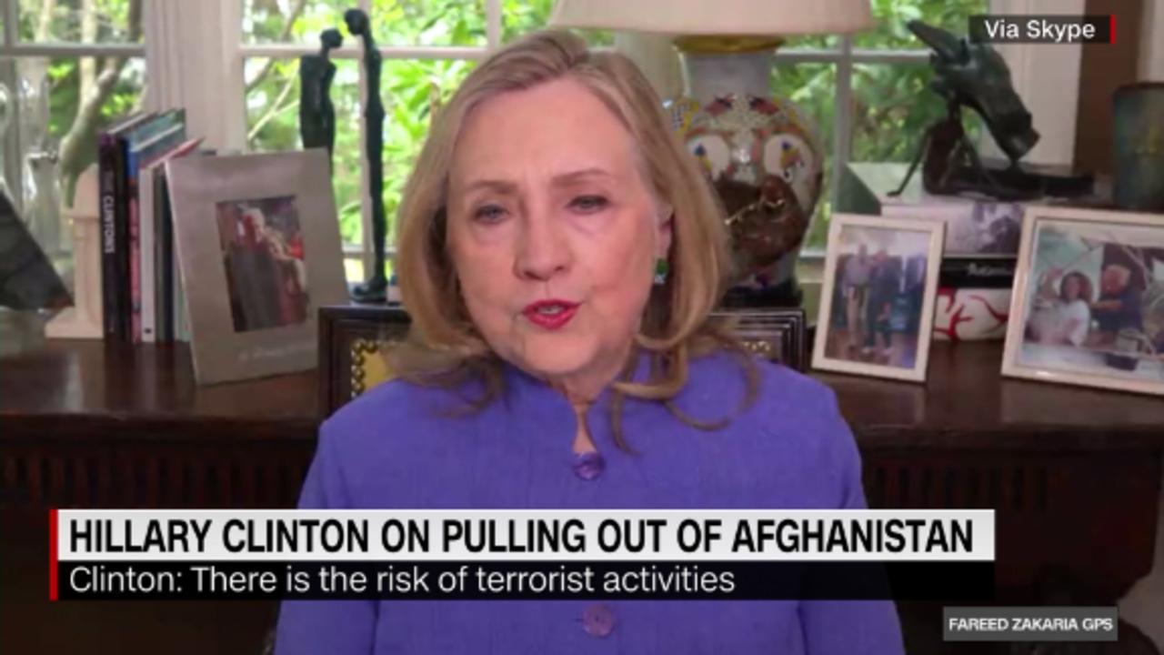 On GPS: Hillary Clinton on Biden and Afghanistan