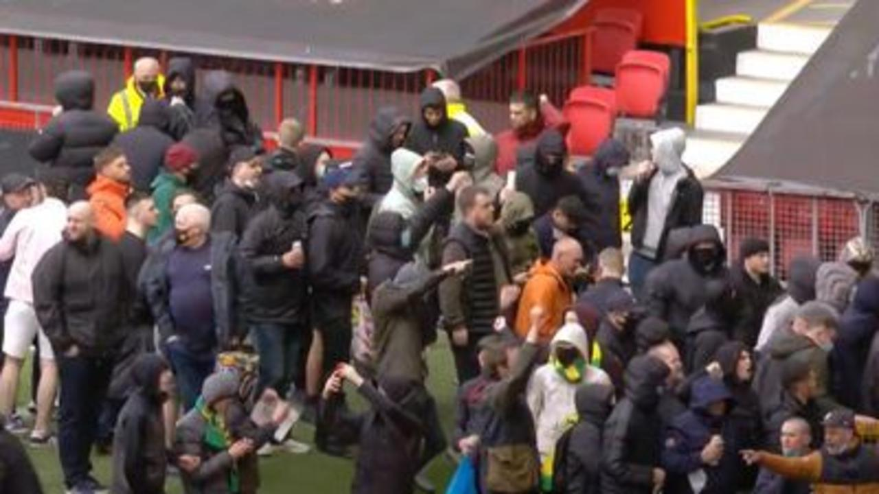Man Utd game axed after anti- Glazer protests