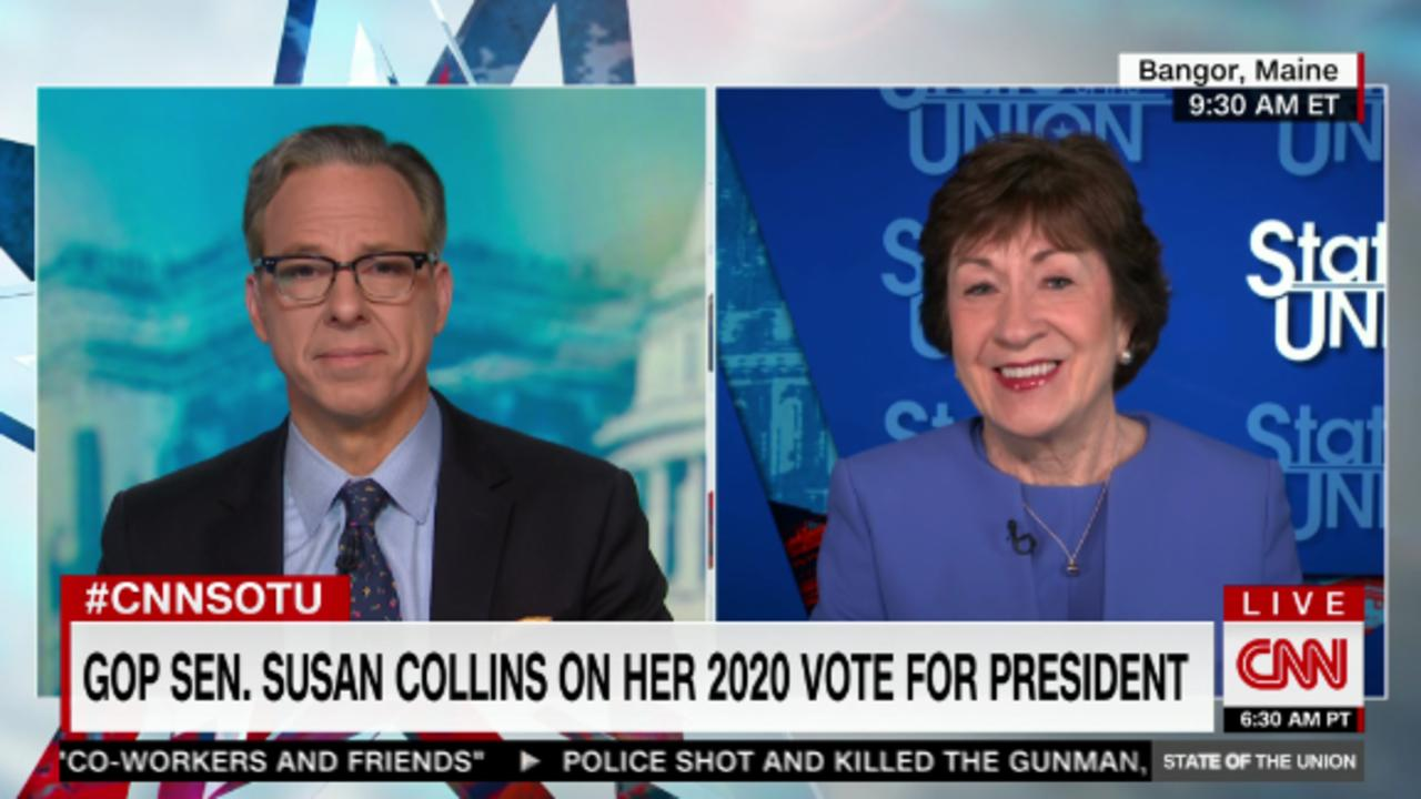 Collins: Up to Biden to counteroffer on infrastructure