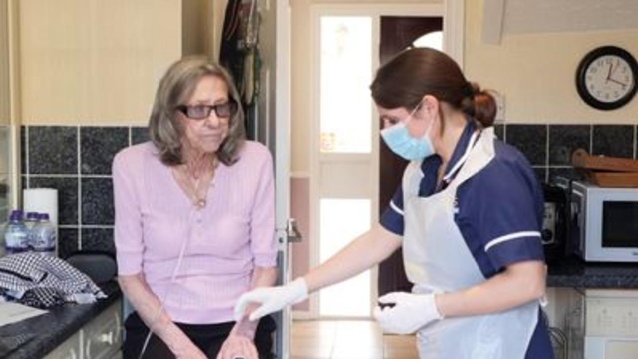 Community nurses take COVID strain