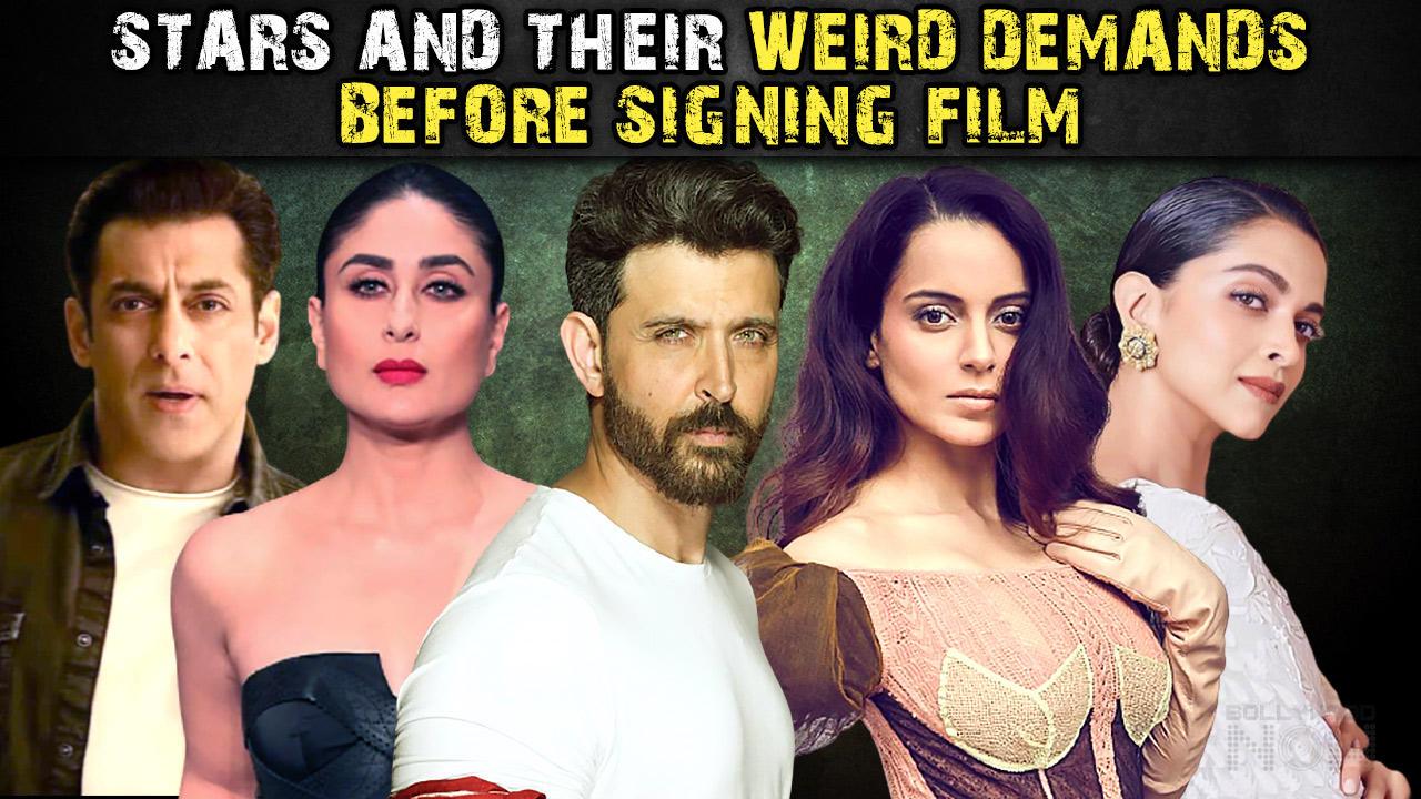 Kangana, Deepika, Salman, Akshay Celebs & Their Weird Demands Before Signing A Film