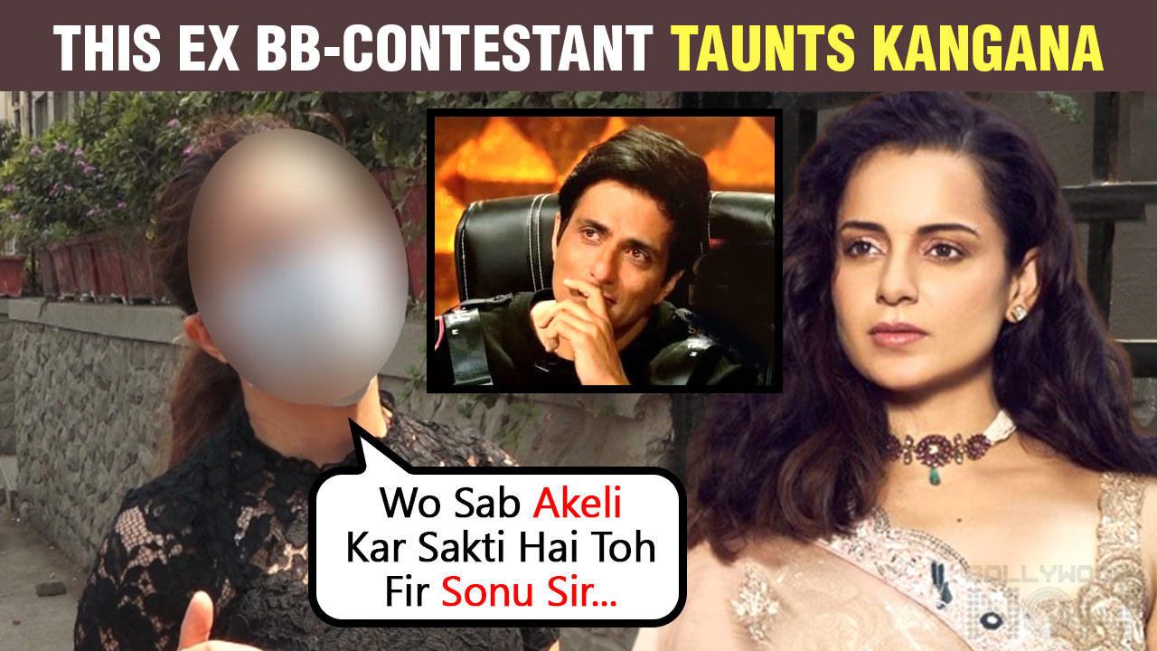 This Actress Indirectly INSULTS Kangana, Praises Sonu Sood For His Work During Pandemic