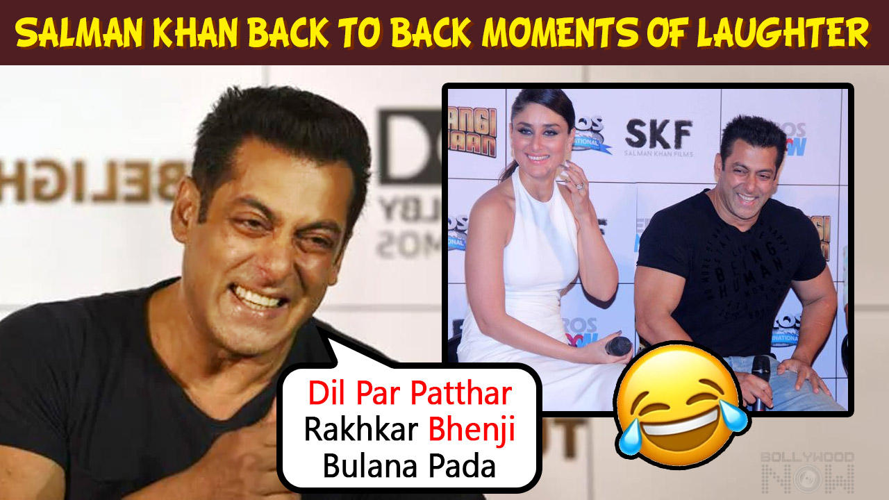 Salman Khan LAUGHING At Events Recalling Incidents  Best Moments Back To Back