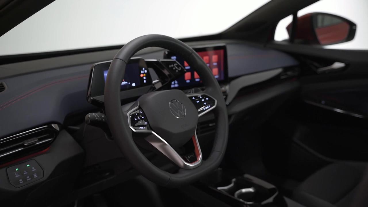 The new Volkswagen ID.4 GTX Interior Design in Studio