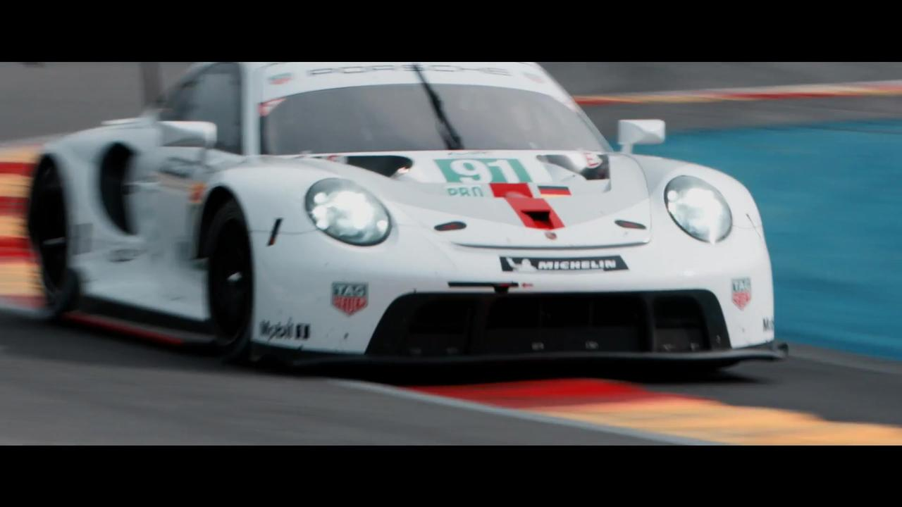 Porsche - Magic lap at Spa
