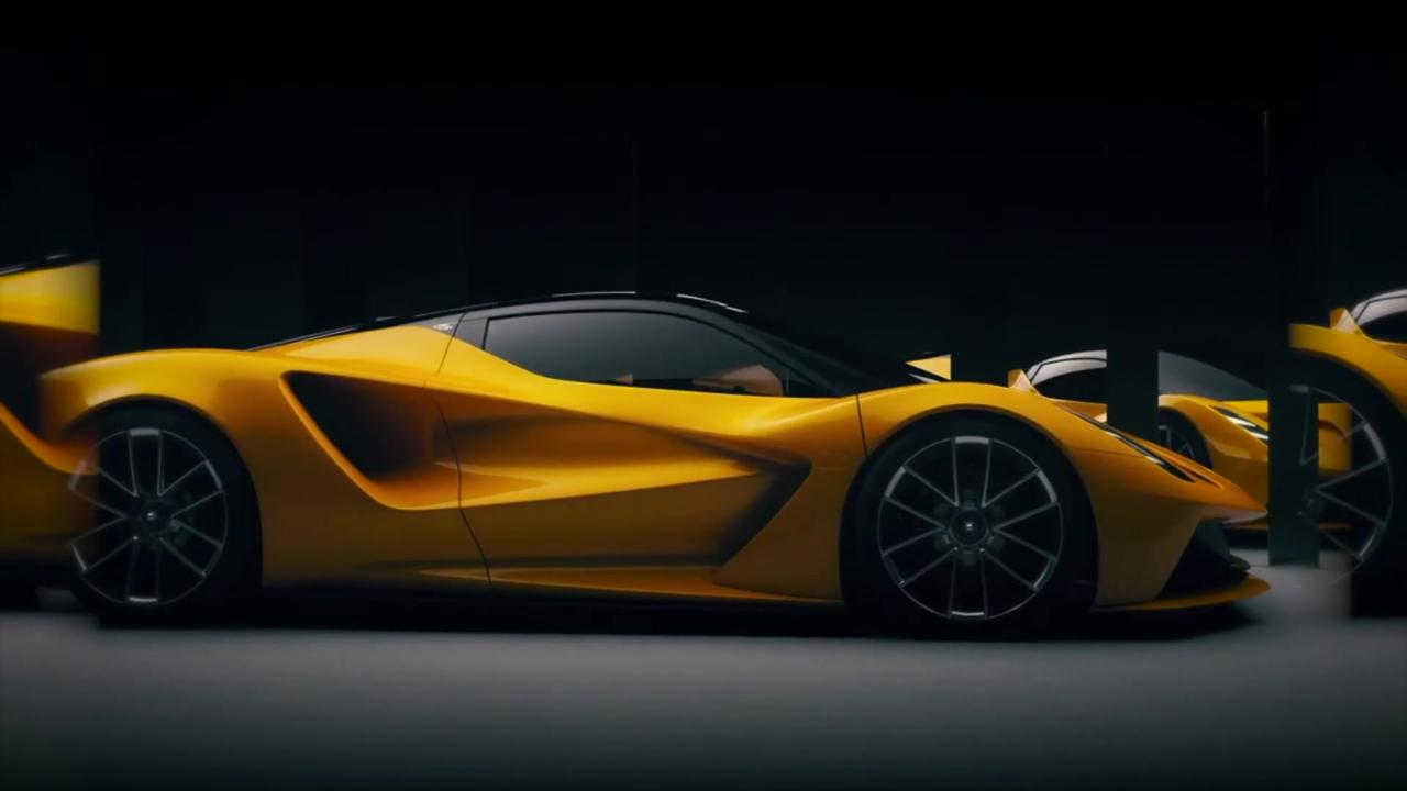 DRIVING TOMORROW - Lotus reveals more of its future than ever before in global digital conference packed with product, strategic