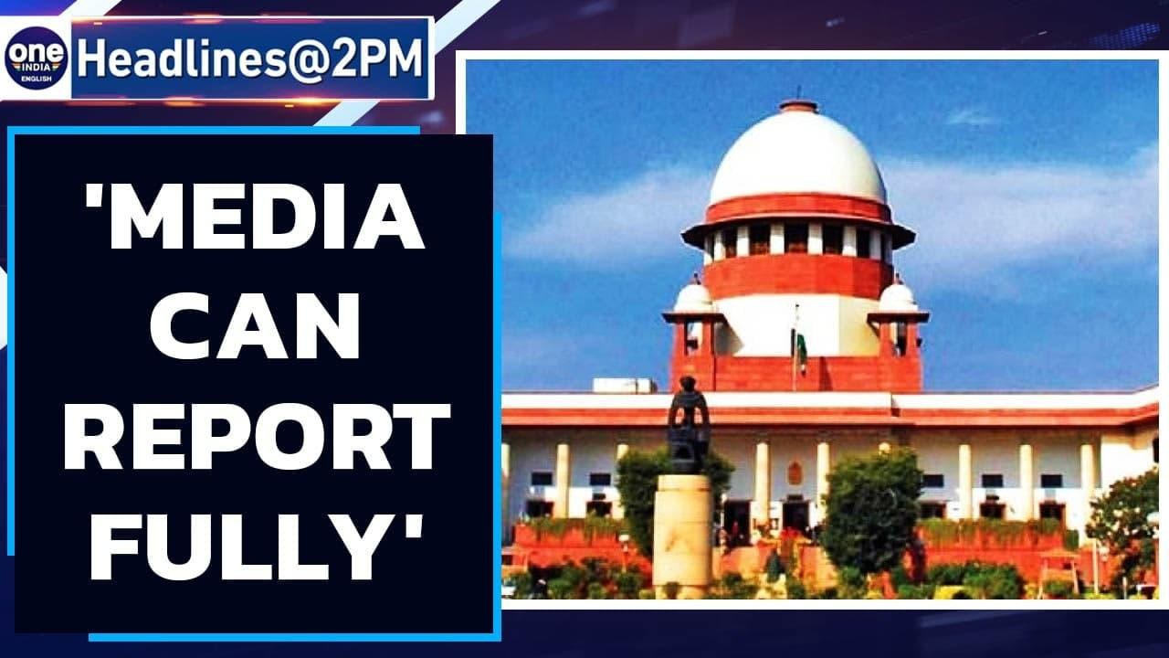 SC upholds press freedom | 'Media can report court observations' | Oneindia News