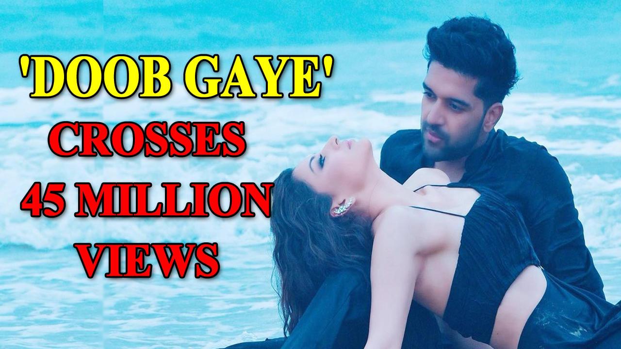 Guru Randhawa and Urvashi Rautela's new song 'Doob Gaye' crosses 45 million views