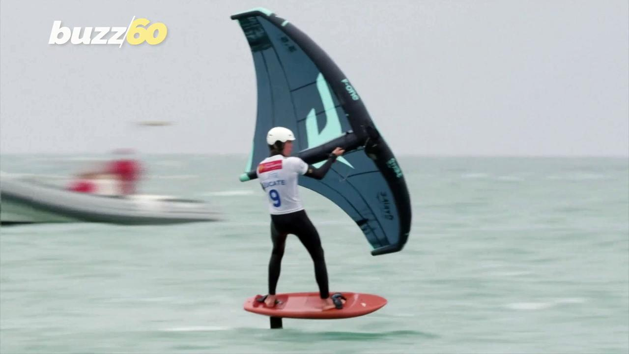 Wingin' It! Wingfoil World Cup Takes to the High Seas in Southern France!