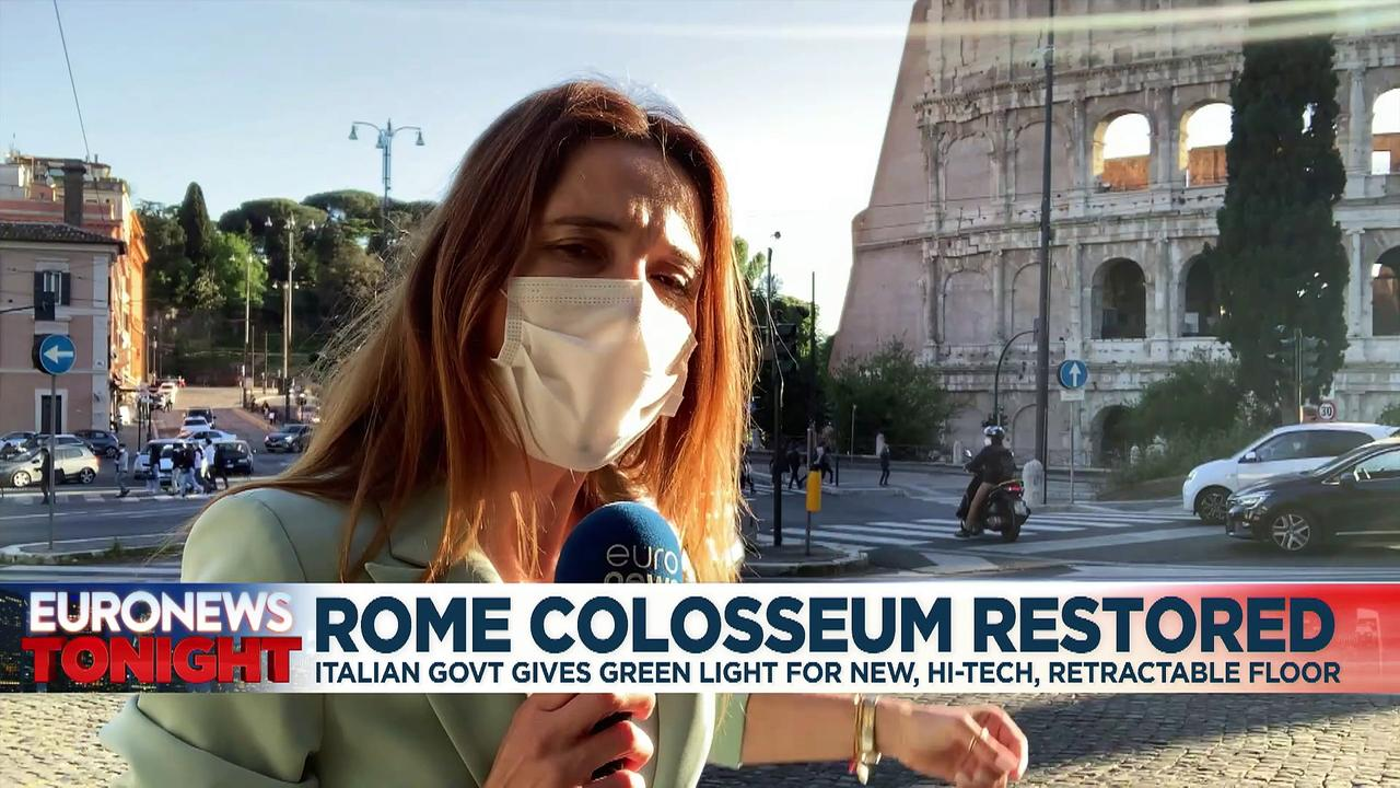 Rome's Colosseum to get new retractable floor to restore 'majestic' central view