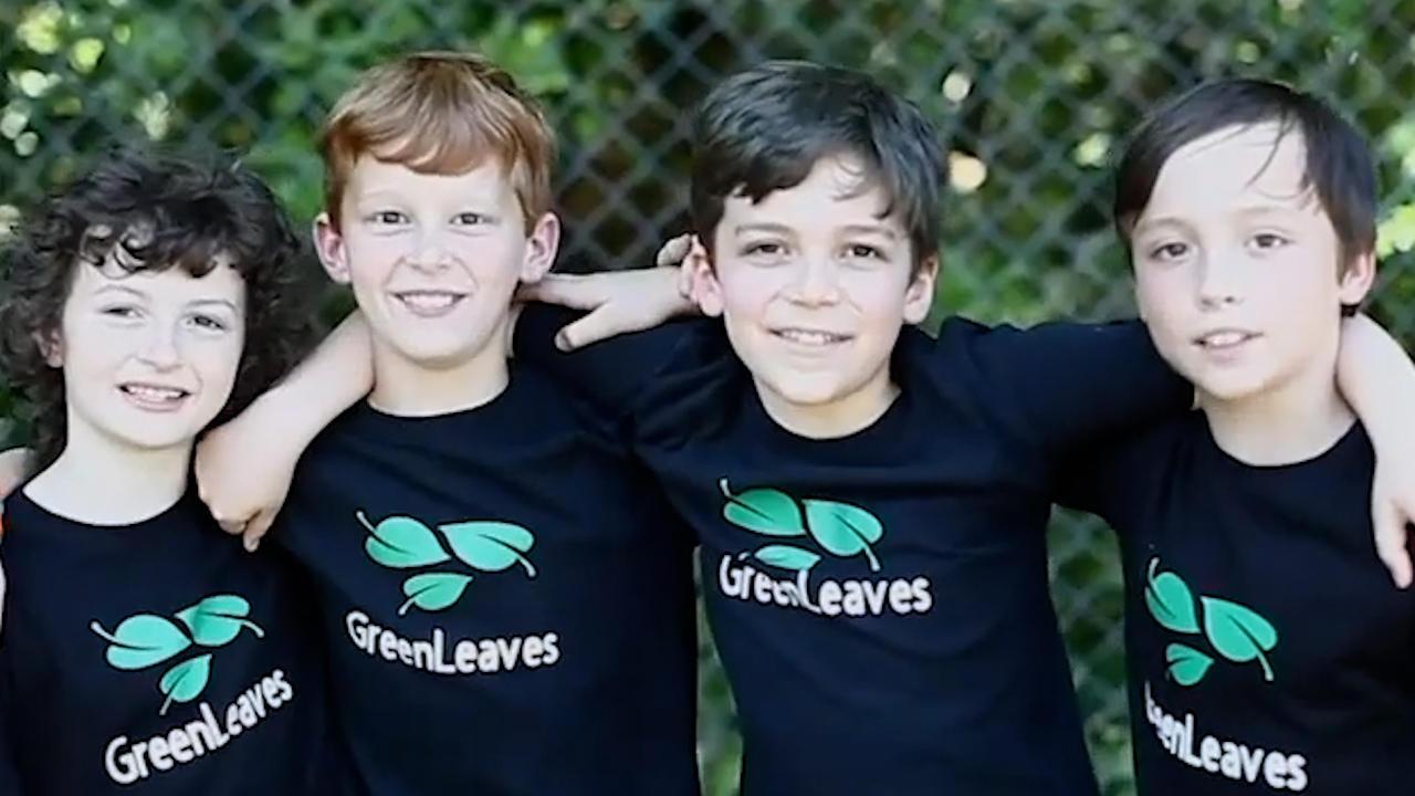 4th Graders' Tree-Planting Movement Gains Momentum