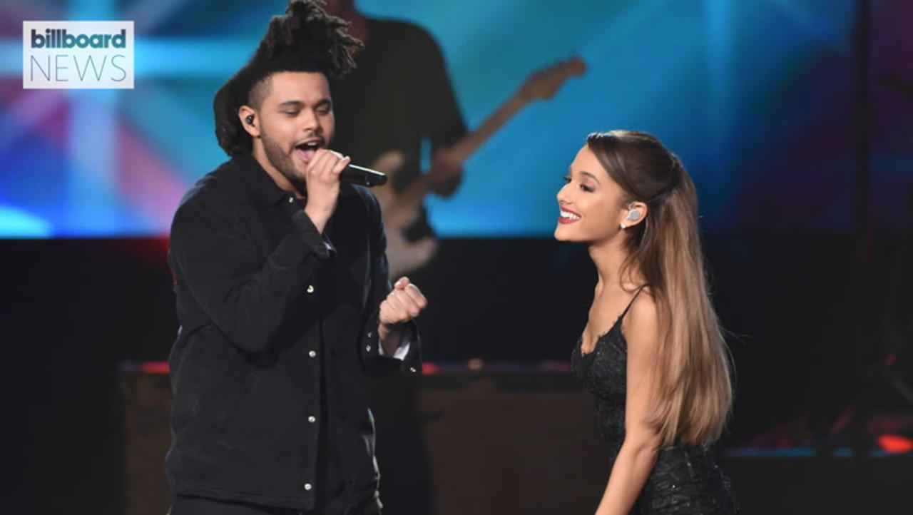 The Weeknd and Ariana Grande's 'Save Your Tears' Hits No. 1 on Billboard Hot 100 | Billboard News