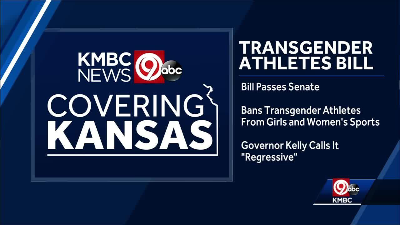 Kansas Senate passes bill banning transgender athletes in girl's, women's school sports