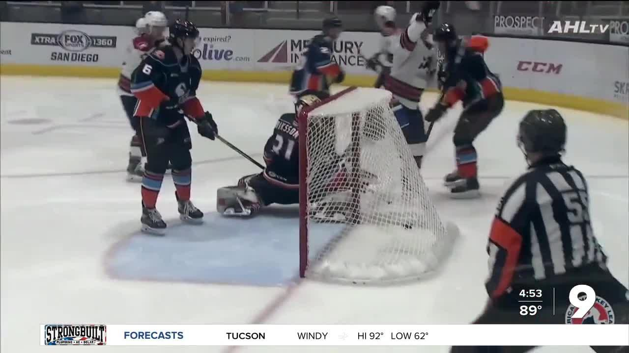 Roadrunners score 9 goals in a game
