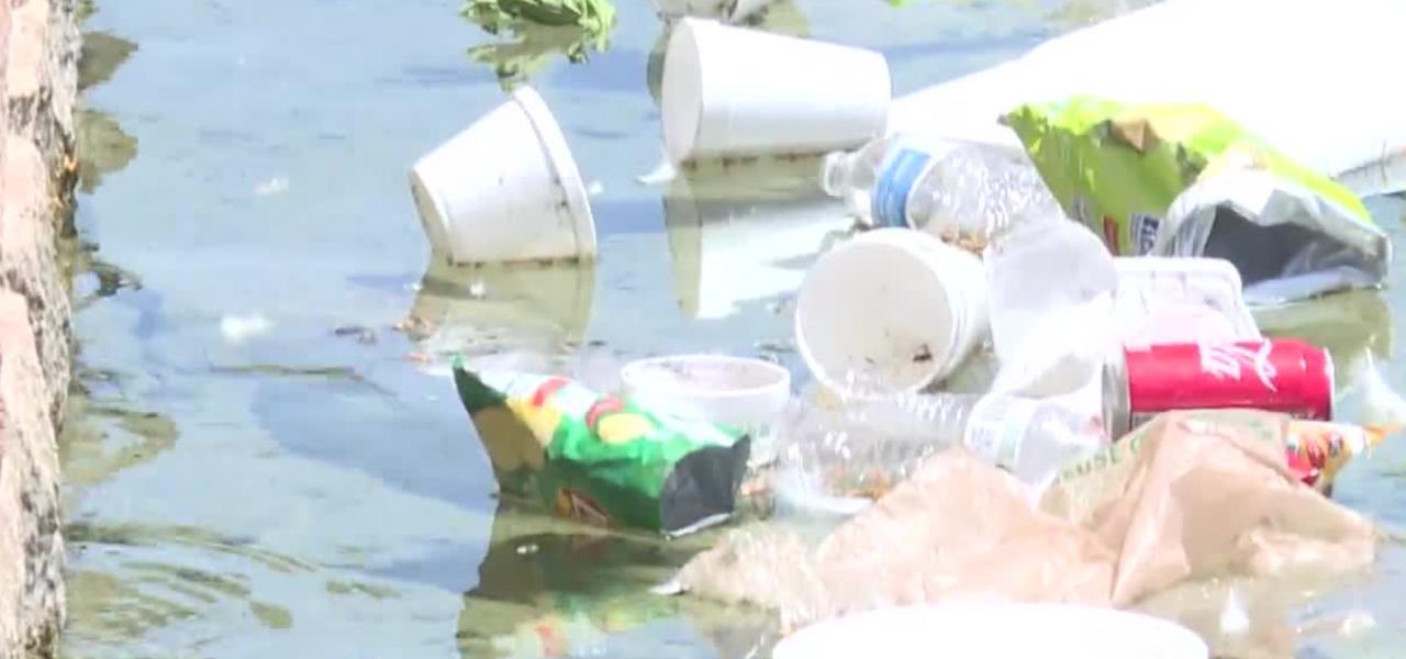 Fishing lines and hooks threaten wildlife at Sunset Park in Las Vegas