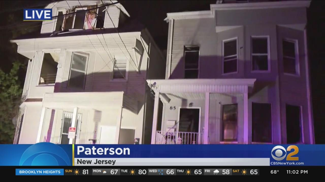 Several Families Displaced After Fire Races Through 2 Homes In Paterson