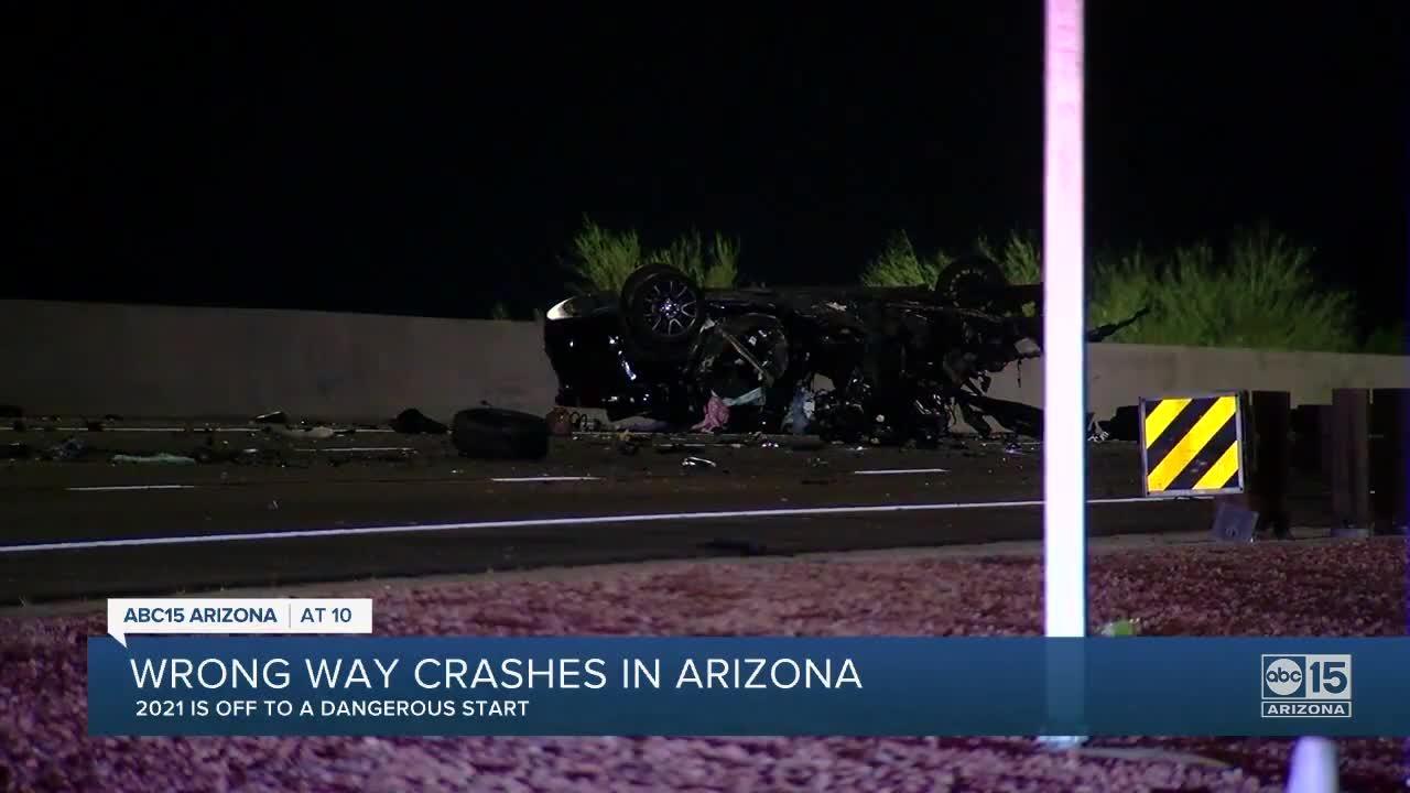 Wrong-way crash on Loop 101 leaves 3 dead