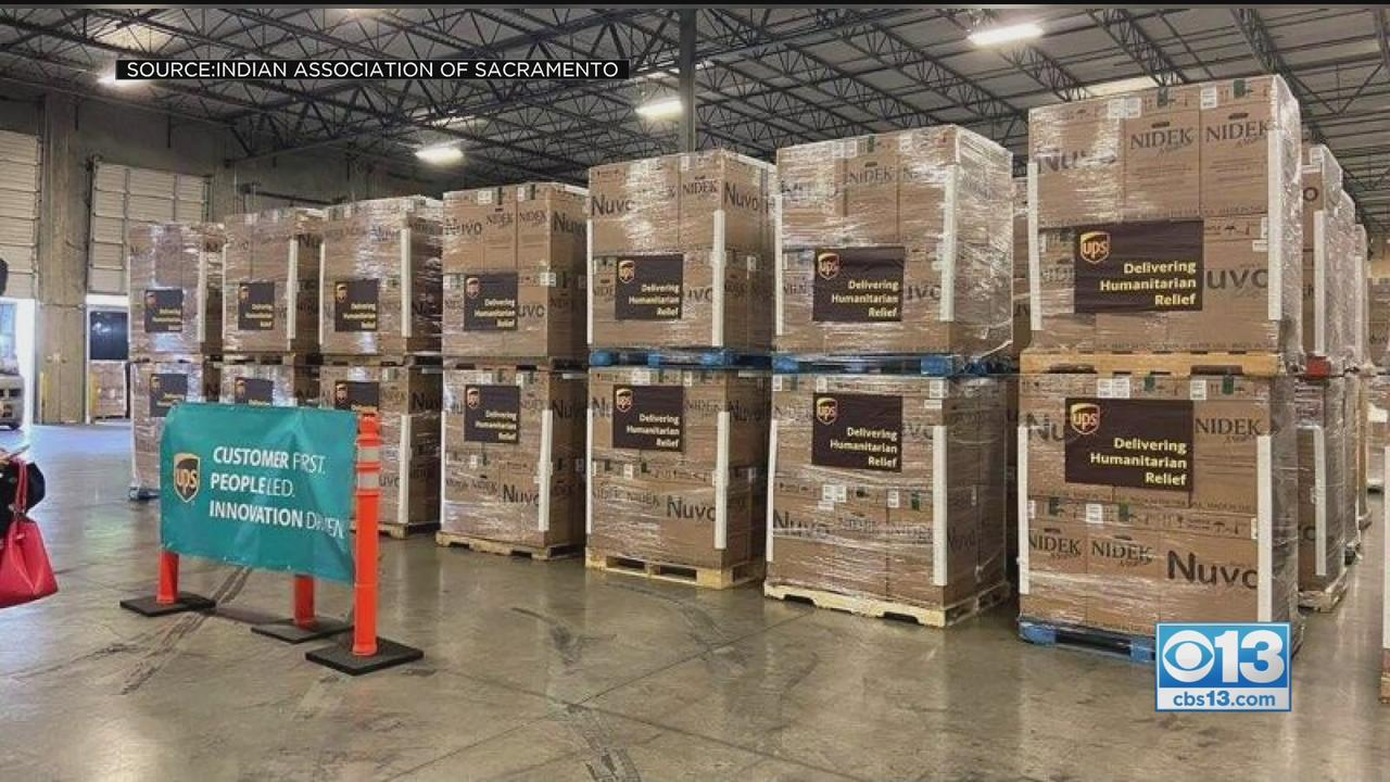 Driven By Loss, Sacramento Group Sends Supplies To India