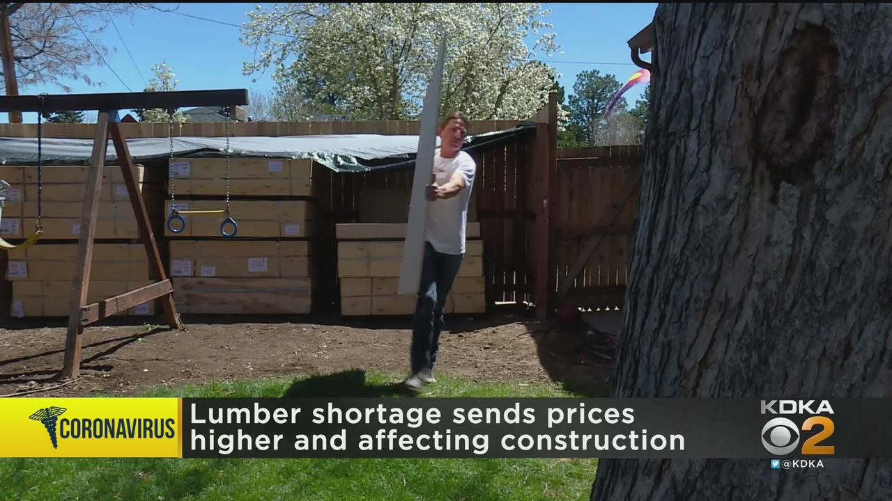 Lumber Shortage Causing Higher Prices