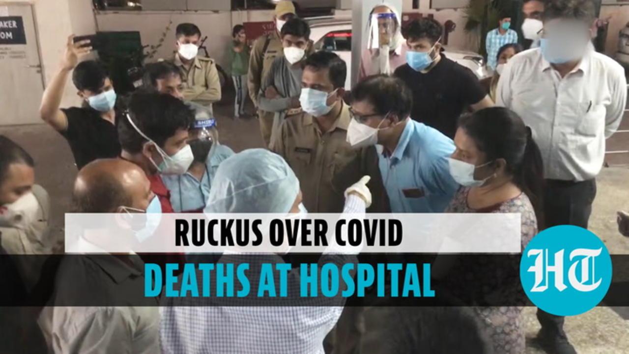 Family members of five deceased Covid patients create ruckus at Meerut hospital