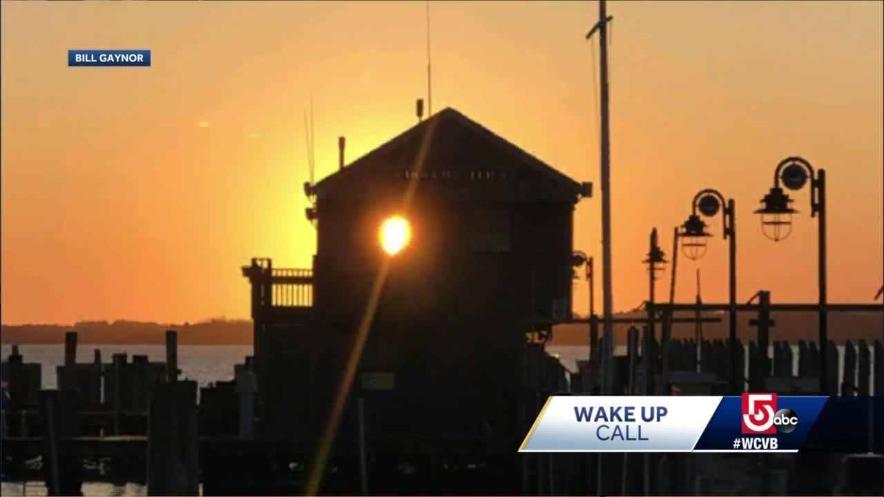 Wake Up Call: Gorgeous skies in Nantucket, Kennebunkport