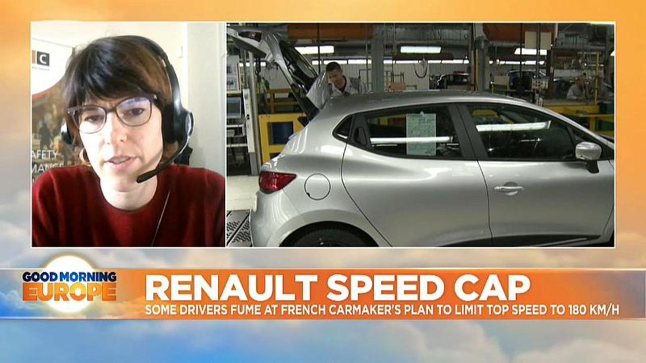 Some drivers fume at Renault's plan to limit top speed to 180 km/h
