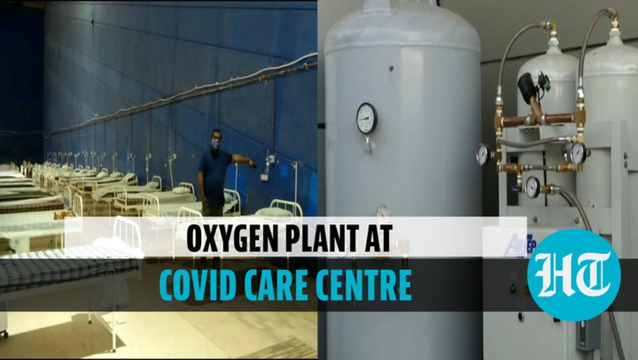 Watch: Delhi's gets 1st oxygen plant at Commonwealth Games village Covid centre
