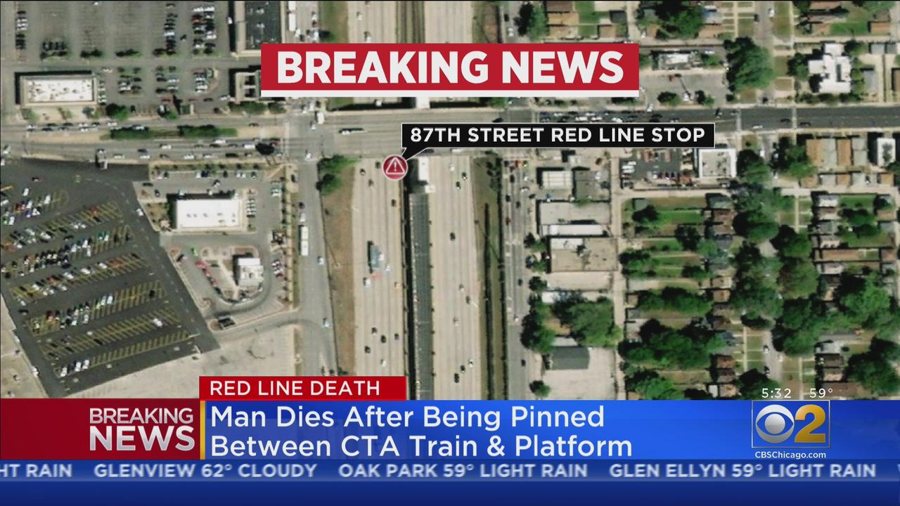 Man Dies After Being Pinned By CTA Red Line Train, Platform