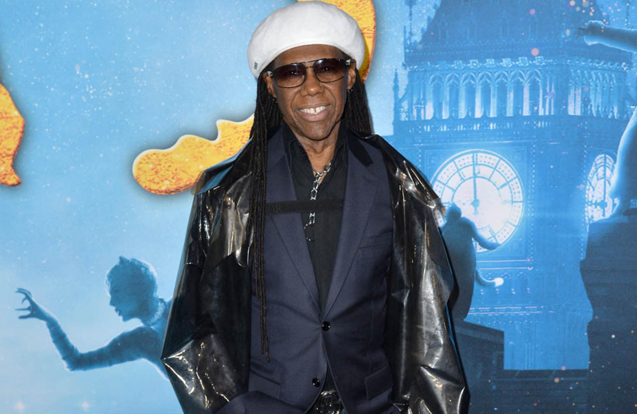 Nile Rodgers has 11 televisions switched on '24 hours a day'