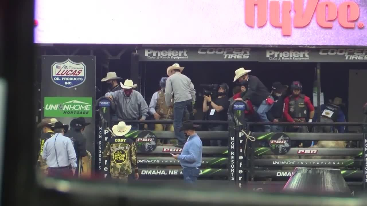 Professional bull riding returns to Omaha